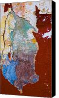 Abstract Tapestries Textiles Canvas Prints - Mastigonia Canvas Print by Skip Hunt