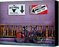 Biking Canvas Prints - Matador Canvas Print by Elena Nosyreva
