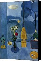 Faa Canvas Prints - Matisse: Blue Window, 1913 Canvas Print by Granger