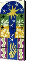 Collage Canvas Prints - Matisse: Christmas, 1952 Canvas Print by Granger