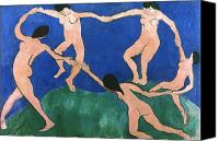 Art Nude Canvas Prints - Matisse: Dance, 1909 Canvas Print by Granger