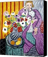 Faa Canvas Prints - Matisse: Robe, 1937 Canvas Print by Granger