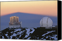Mauna Kea Canvas Prints - Mauna Kea Observatory, Hawaii Canvas Print by G. Brad Lewis