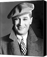 Chevalier Canvas Prints - Maurice Chevalier, Ca. 1930 Canvas Print by Everett