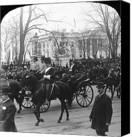 The White House Canvas Prints - McKINLEY INAUGURATION, 1901 Canvas Print by Granger