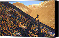 Self Portrait Canvas Prints - Me and My Shadow - Utah Canvas Print by Mike McGlothlen