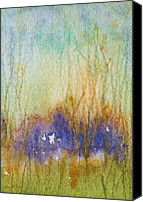 Mary Wolf Canvas Prints - Meadows Edge Canvas Print by Mary Wolf
