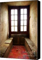 Architect Canvas Prints - Medieval Window Canvas Print by Carlos Caetano