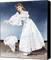 White Gloves Canvas Prints - Meet Me In St. Louis, Judy Garland, 1944 Canvas Print by Everett