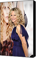 Half-length Canvas Prints - Meg Ryan At Arrivals For Premiere Canvas Print by Everett