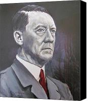 Adolf Canvas Prints - Mein Schnurrbart Canvas Print by Eric Dee
