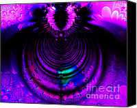 Diversity Digital Art Canvas Prints - Melting Pot . Horizontal Cut . S8a.S11 Canvas Print by Wingsdomain Art and Photography