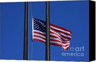 Flagpole Canvas Prints - Memorial Day Canvas Print by Lyle Hatch