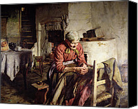 Loss Painting Canvas Prints - Memories Canvas Print by Walter Langley