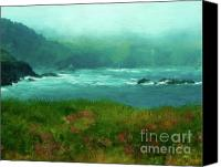 Mendocino Coast Canvas Prints - Mendocino Canvas Print by Crystal Garner