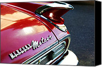 Textures Canvas Prints - Mercury Meteor Canvas Print by Cathie Tyler