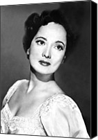 Publicity Shot Canvas Prints - Merle Oberon, 1953 Canvas Print by Everett