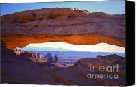 Mesa Arch Canvas Prints - Mesa Arch Canvas Print by Tara Turner