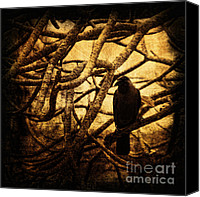 Andrew Digital Art Canvas Prints - Messenger Canvas Print by Andrew Paranavitana