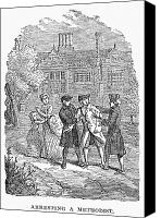 American Revolution Canvas Prints - METHODIST ARRESTED, c1778 Canvas Print by Granger