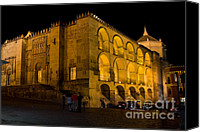 Great Mosque Canvas Prints - Mezquita at Night in Cordoba Canvas Print by Artur Bogacki