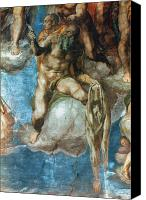 Judgment Day Canvas Prints - Michelangelo: St. Barth Canvas Print by Granger