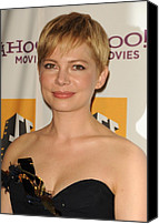 Michelle Canvas Prints - Michelle Williams At Arrivals For 15th Canvas Print by Everett