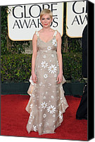 Michelle Canvas Prints - Michelle Williams Wearing A Valentino Canvas Print by Everett