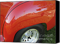 Hot Rod Car Canvas Prints - Microcosm Canvas Print by Luke Moore