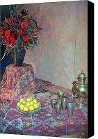 Debbie Canvas Prints - Middle Eastern Flavor Canvas Print by Deborah  Crew-Johnson