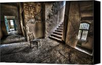 "\\\""haunted House\\\\\\\"" Canvas Prints - Middle floor seating Canvas Print by Nathan Wright"