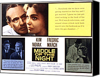 Fid Canvas Prints - Middle Of The Night, Fredric March, Kim Canvas Print by Everett