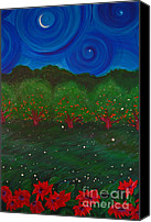 First Star Art By Jrr Canvas Prints - Midsummer Night by jrr Canvas Print by First Star Art