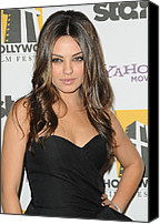 Half-length Canvas Prints - Mila Kunis At Arrivals For 14th Annual Canvas Print by Everett