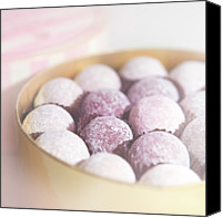 Temptation Canvas Prints - Milk Chocolate Truffles Canvas Print by Peter Chadwick LRPS