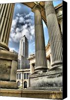 Featured Photo Canvas Prints - Millenium Park Canvas Print by Dennis Sullivan