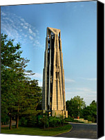 Riverwalk Canvas Prints - Millennium Carillon - 1 Canvas Print by Ely Arsha