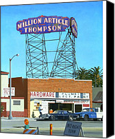 Hyperrealism Canvas Prints - Million Article Thompson Canvas Print by Michael Ward