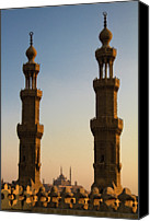 Middle East Canvas Prints - Minarets Canvas Print by Matteo Allegro