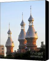 Tampa Canvas Prints - Minarets over Tampa Canvas Print by David Lee Thompson