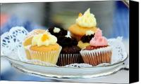 Photohogdesigns Canvas Prints - Mini Cupcakes 7813 Canvas Print by PhotohogDesigns