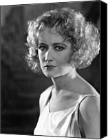1930s Hairstyles Canvas Prints - Miriam Hopkins, Ca. 1931 Canvas Print by Everett