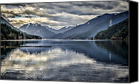 Landscapes Tapestries Textiles Special Promotions - Mirror Image Canvas Print by Heather Applegate