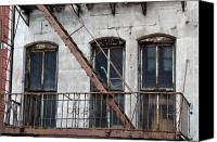 Fire Escape Photo Canvas Prints - Missing Canvas Print by Fred Lassmann