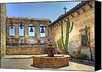Mission Bells Canvas Prints - Mission Bells Canvas Print by Geraldine Alexander