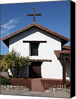 Mission Bells Canvas Prints - Mission Francisco Solano - Downtown Sonoma California - 5D19296 Canvas Print by Wingsdomain Art and Photography