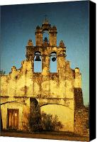Mission Bells Canvas Prints - Mission San Juan Canvas Print by Iris Greenwell