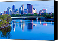 Capella Canvas Prints - Mississippi and Minneapolis Canvas Print by Adam Pender