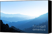 Solitude Canvas Prints - Misty Valley Canvas Print by Carlos Caetano