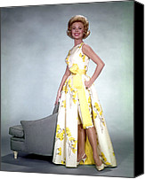 1950s Fashion Canvas Prints - Mitzi Gaynor, 1950s Canvas Print by Everett